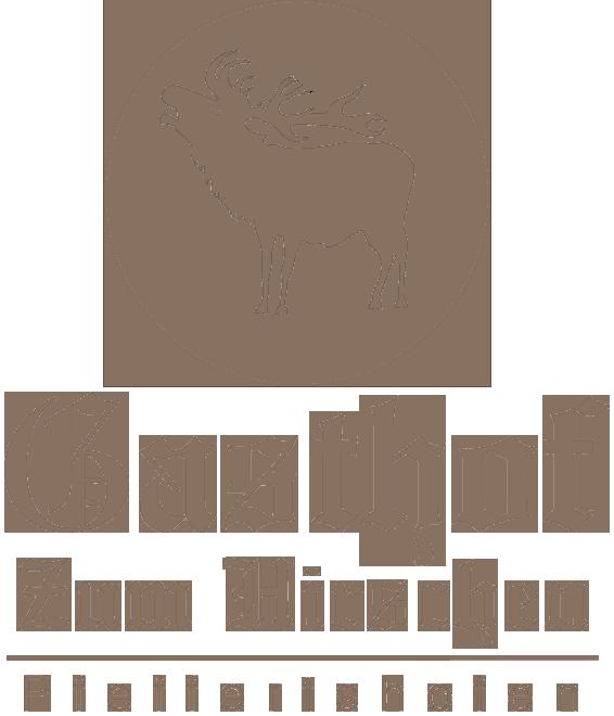 Gasthof zum Hirschen Logo