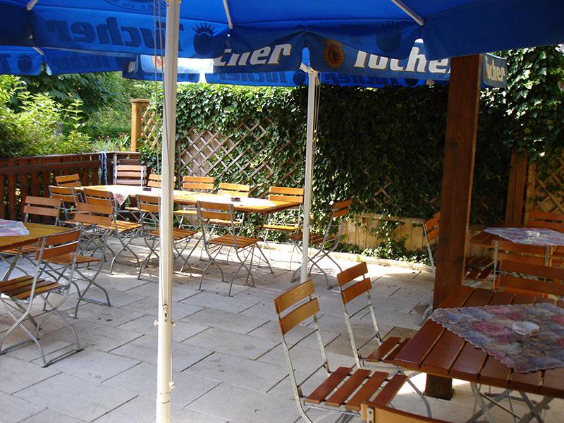 Terrasse - Gasthof zum Hirschen