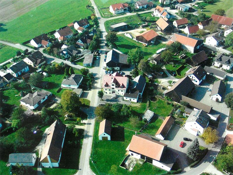 Luftbild Pfeffertshofen 2 Mobil - Gasthof zum Hirschen